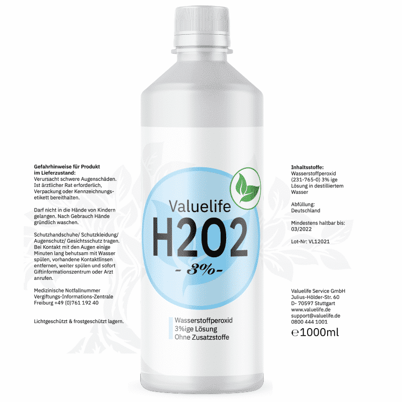 Valuelife h202 3%